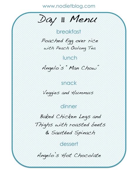 nodietblog.com healthy meal plan